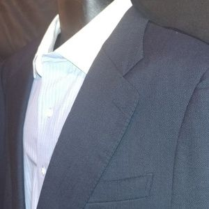 Ermenegildo Zegna Mens Blue Blazer Sport Coat